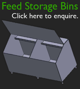 Dotmar Agriculture Plastic Partitions Feed Storage Bins